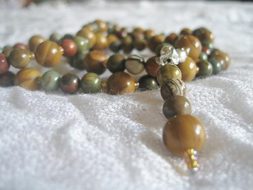 Mookait-Mala für Muladhara-Meditationen