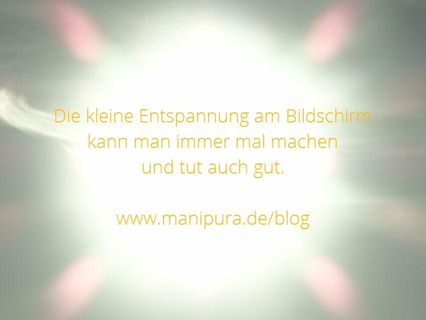 3 Minuten Pause Yoga Zitate über Licht Video Manipura